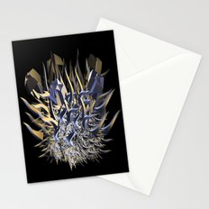 Fractal Fire Ball Stationery Cards