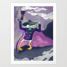 Darkwing Duck Art Print