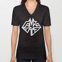 CamRaFace Logo White for T-Shirts Unisex V-Neck