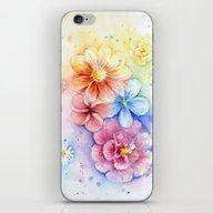 Flowers Watercolor Flora… iPhone & iPod Skin