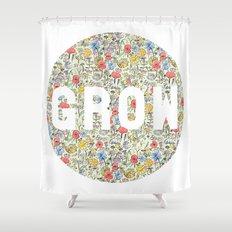 Grow Shower Curtain