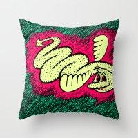 ATMOSPHERIC BEAST. Throw Pillow