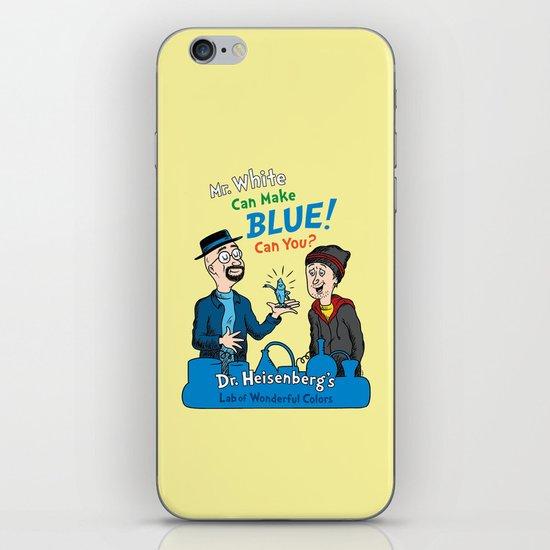 Mr. White Can Make Blue! iPhone & iPod Skin