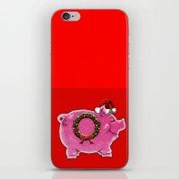 HAPPY HOG iPhone & iPod Skin