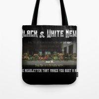 The Black & White Last Supper Tote Bag
