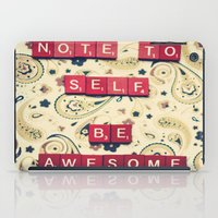 Note to Self iPad Case