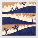 Lovely Hills of San Francisco Canvas Print