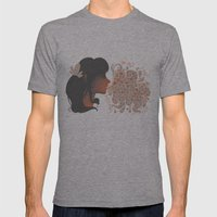 Bubbles Mens Fitted Tee Athletic Grey SMALL