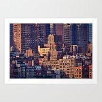 Density - New York City … Art Print