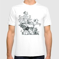 Natural History Mens Fitted Tee White SMALL