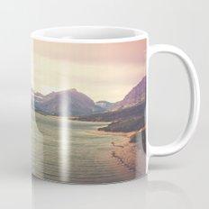 Retro Mountain Lake Mug