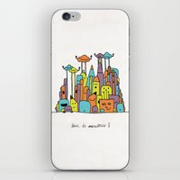 Monster Tower II iPhone & iPod Skin