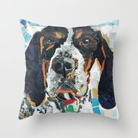 Huckleberry The Handsome… Throw Pillow