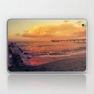 Sundown At The Sea Laptop & iPad Skin