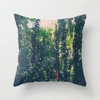 Rainforest, Maui  Throw Pillow