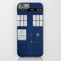 Doctor Who's Tardis iPhone 6 Slim Case