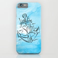 Live A Salty Life - Blue iPhone 6 Slim Case