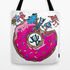 Skate Donut Tote Bag