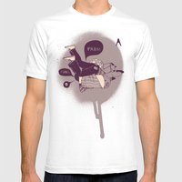 Vish Mens Fitted Tee White SMALL