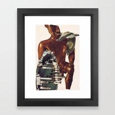 Collage #43 Framed Art Print