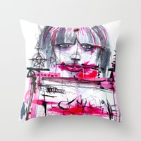 Fuck Machine Throw Pillow