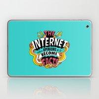 The Internet. Laptop & iPad Skin