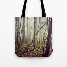 Out In The Woods Today Tote Bag