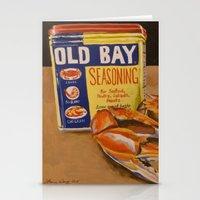 Meg's Old Bay Stationery Cards