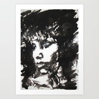 Retrato/Face Art Print