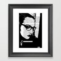 That Look Of Falling To … Framed Art Print