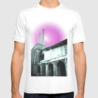 Alzano Mens Fitted Tee White SMALL