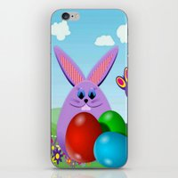 Happy Easter iPhone & iPod Skin