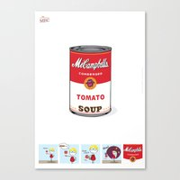 Soup Canvas Print