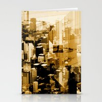 chicago Stationery Cards featuring Chicago by DM Davis