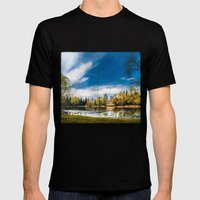 Lakeview Mens Fitted Tee Black SMALL
