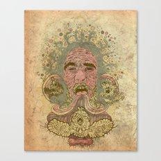 Kerfuffle Canvas Print