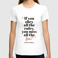 Fun! Womens Fitted Tee White SMALL