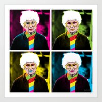 Sophia x 4 by @ruralmodernist Art Print