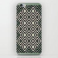 PARQUET 3 iPhone & iPod Skin