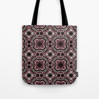 roses and pearls Tote Bag