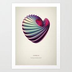 Cordis Art Print