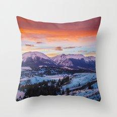 Paint the Sky Throw Pillow