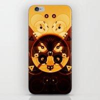 Ying-Yang Gold Cross Ver… iPhone & iPod Skin