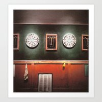 Dart Boards Art Print