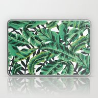 Laptop & iPad Skin featuring Tropical Glam Banana Lea… by Nikki