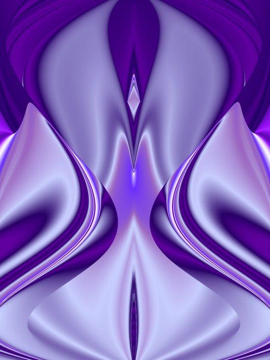 Purple Flower Dream 4 Art Print