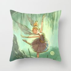 Goblins Drool, Fairies Rule - Willow Sue Throw Pillow