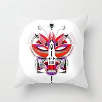 FOX-2 Throw Pillow