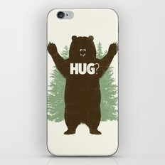 Bear Hug? iPhone & iPod Skin