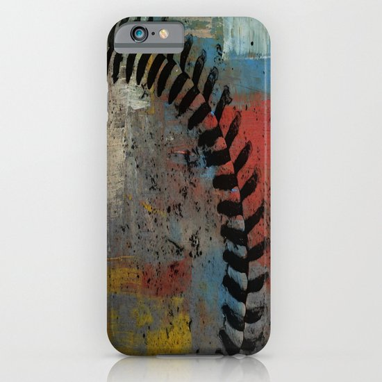 Painted Baseball iPhone & iPod Case